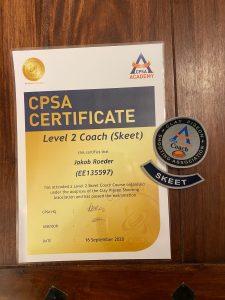 Schießausbildung Level 2 Coach Skeet