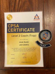 Schießausbildung Level 2 Coach Trap