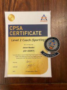 Schießausbildung Level 2 Coach Sporting
