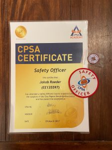 Schießausbildung Safety Officer